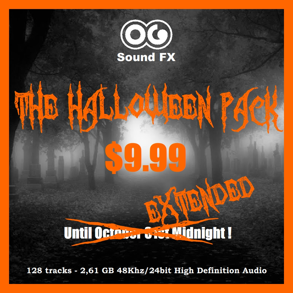 special halloween pack | og soundfx - high definition sound fx