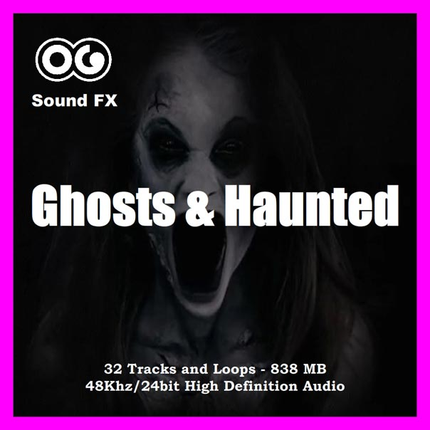 Ghosts and Haunted Album