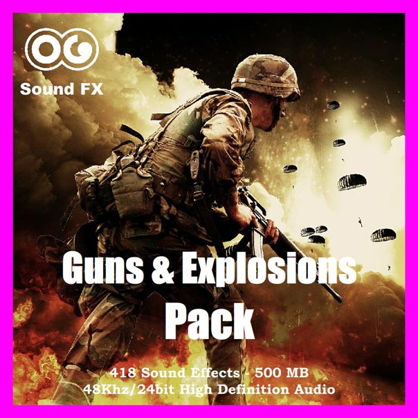 Guns & Explosions Pack